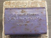 Florex Schafmilchseife eckig Lavendel 100 g Stück