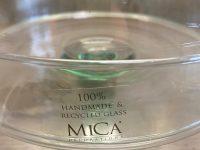 MICA DECORATIONS Glasetagere mit Glasglocke